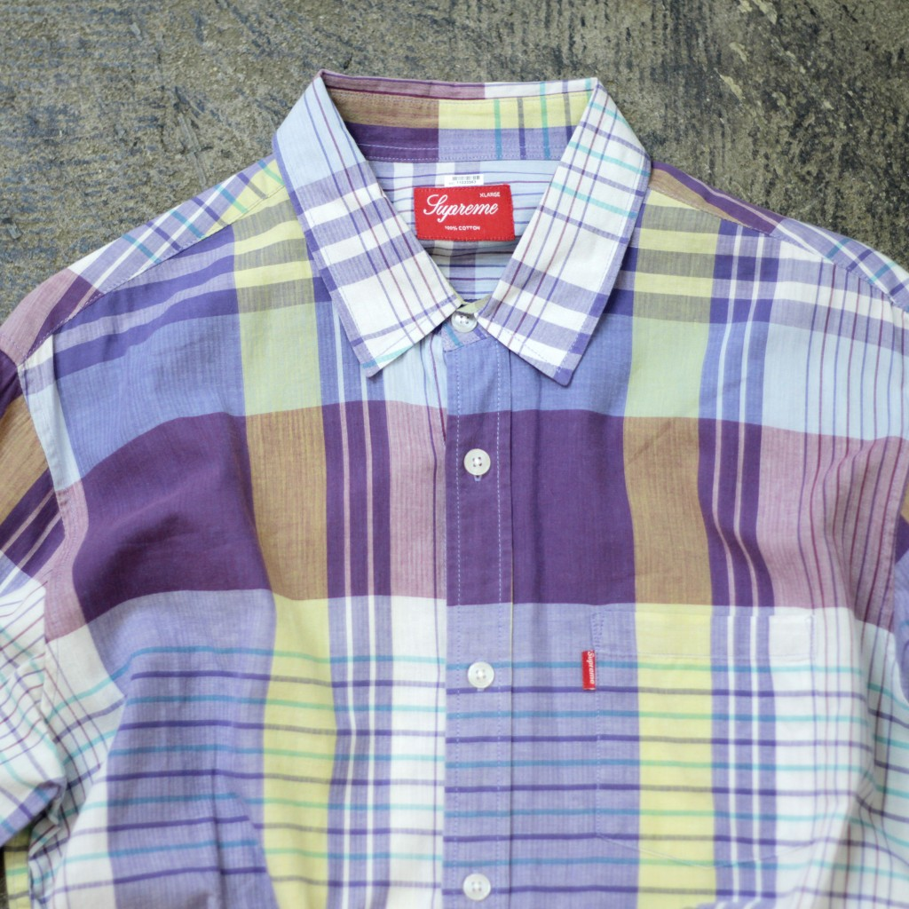 Supreme Madras Check Shirt