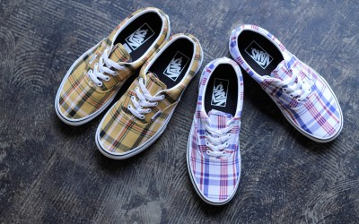 VANS Era 'Madras Check'