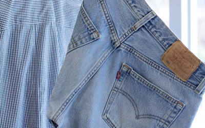 Levi's Vintage 501 80′s USA Denim