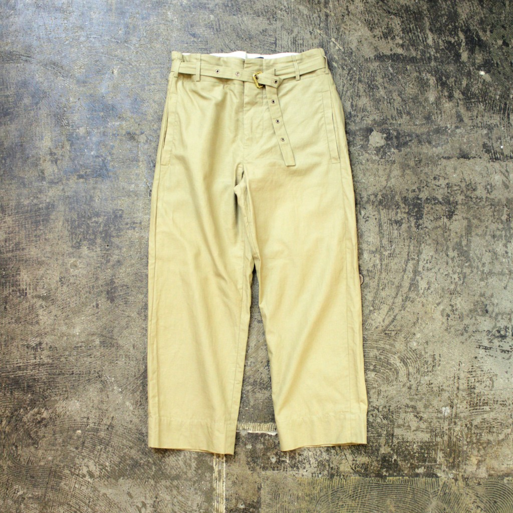 ISABEL MARANT Belted Trousers