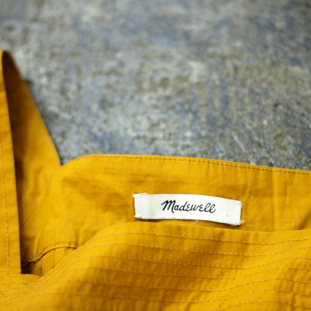 madewell square neck blouse