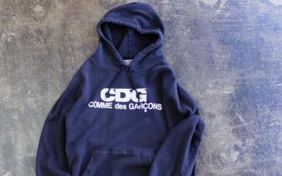 GOOD DESIGN SHOP -Comme des Garcons×D&DEPARTMENT- Logo Sweat Hoodie