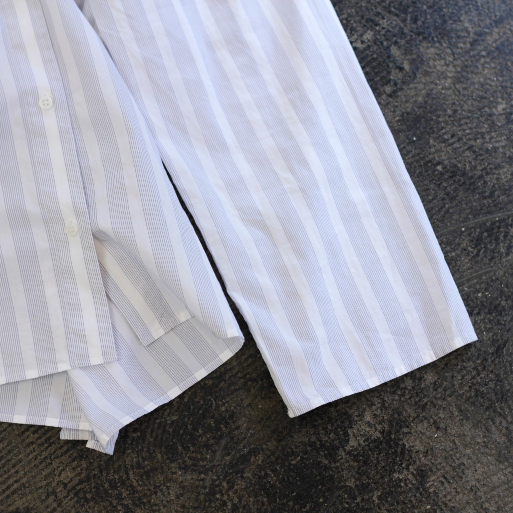COS Open Collar Stripe Shirt