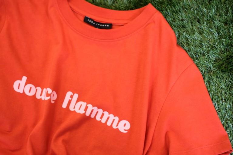 TARA JARMON S/S Print T-Shirt