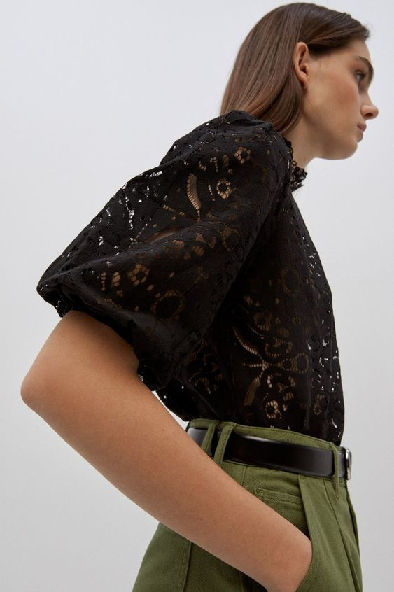 madewell Cutting Lace Blouse