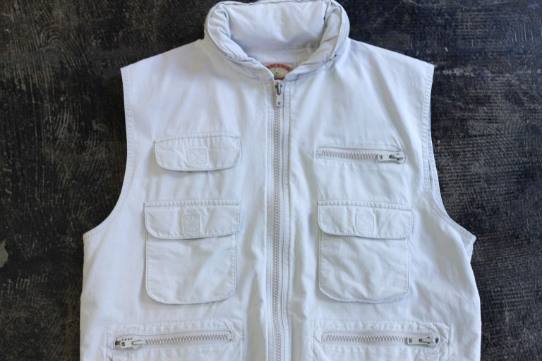 OLD BANANA REPUBLIC 80′s Safari Vest