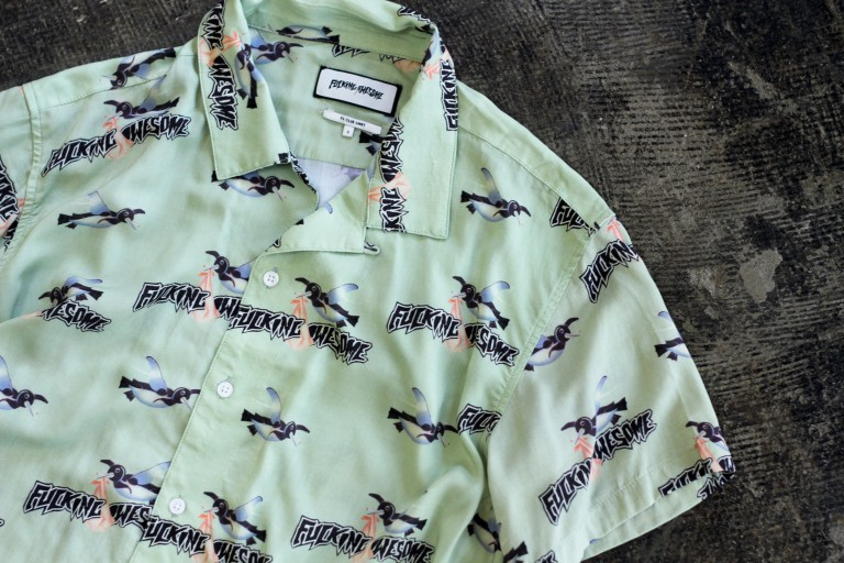 FUCKING AWESOME Rayon Bird Club Shirt