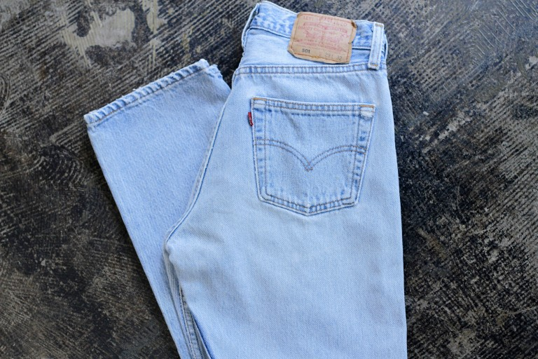 Levi's Vintage 501 80′s Denim 'Ice Blue'