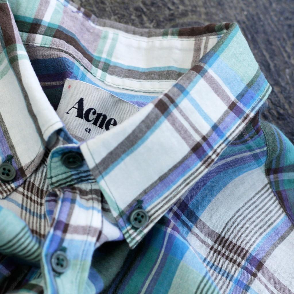 Acne Studios Check Shirts