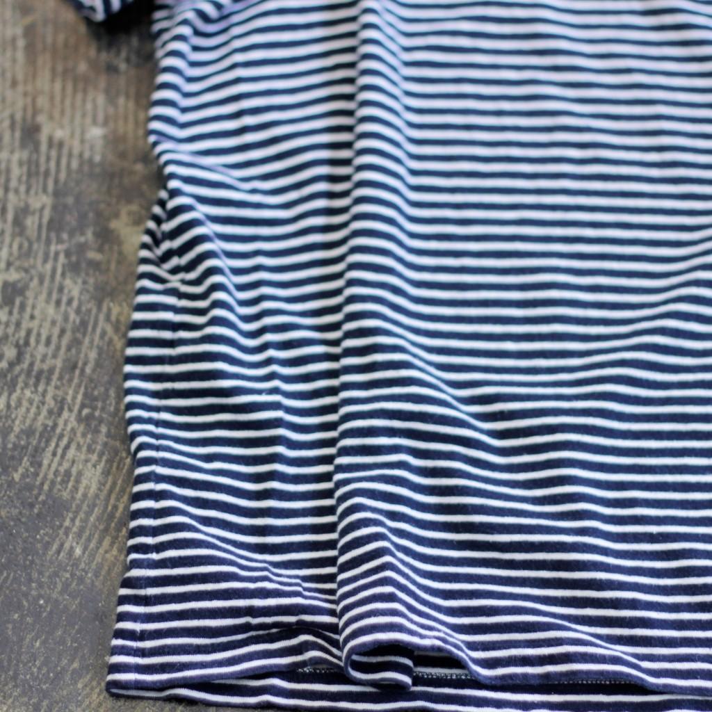 A.P.C. Cotton-Linen Border T-Shirts