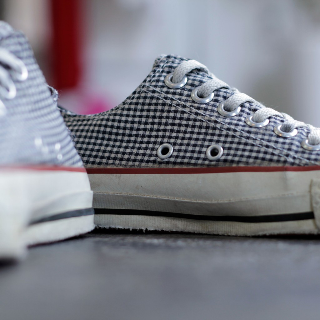 CONVERSE Vintage 90's All Star 'Gingham Check'