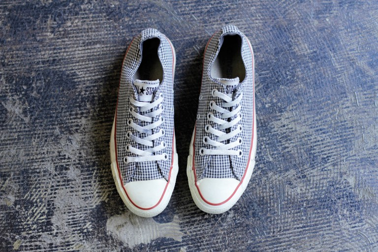 CONVERSE Vintage 90′s All Star 'Gingham Check'