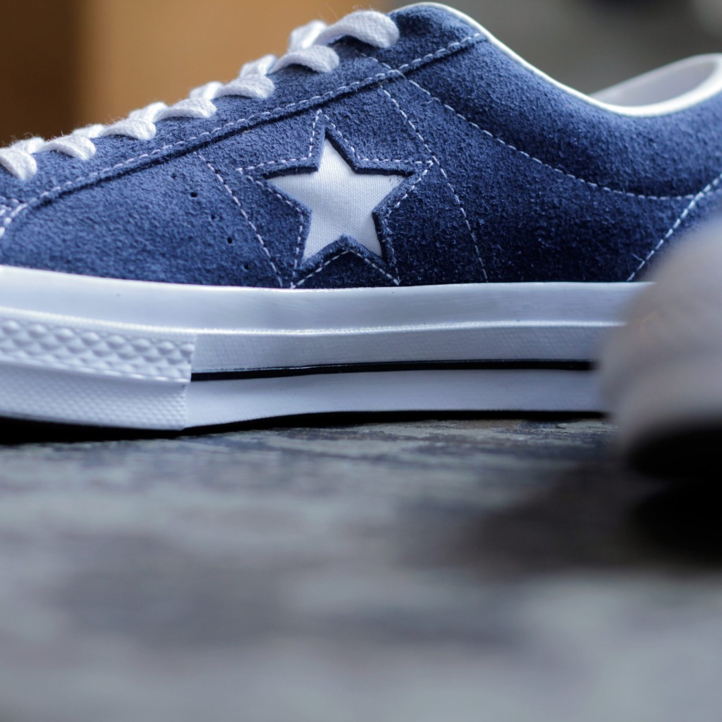 CONVERSE ONE STAR OX SUEDE