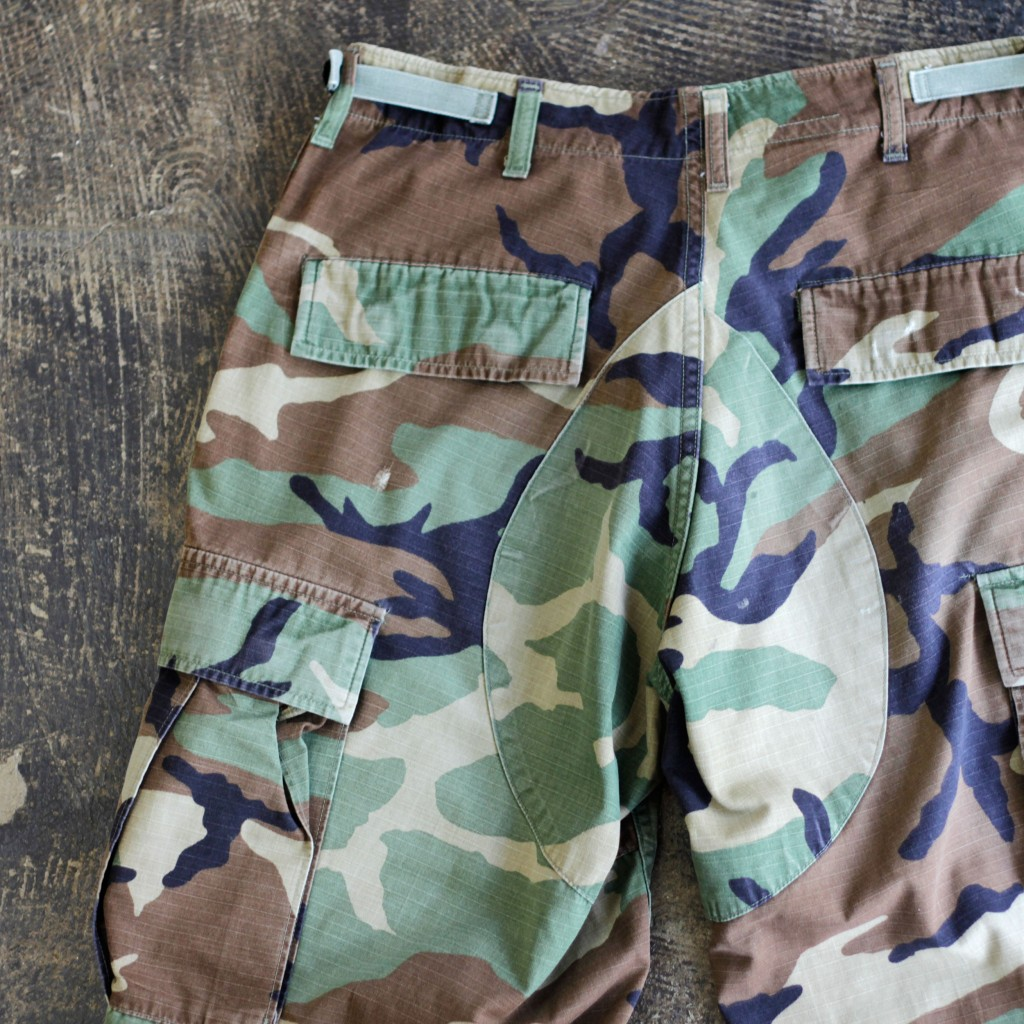US ARMY Woodland Camo Shorts