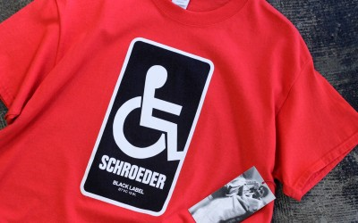 Dear Skating Ben Schroeder Handicapped T-Shirt No,31 / 100