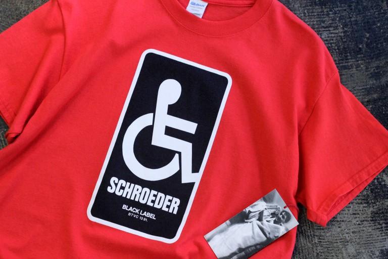 Dear Skating Ben Schroeder Handicapped T-Shirt No,31 / 100