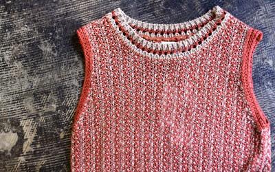 Sleeveless Woven Knit
