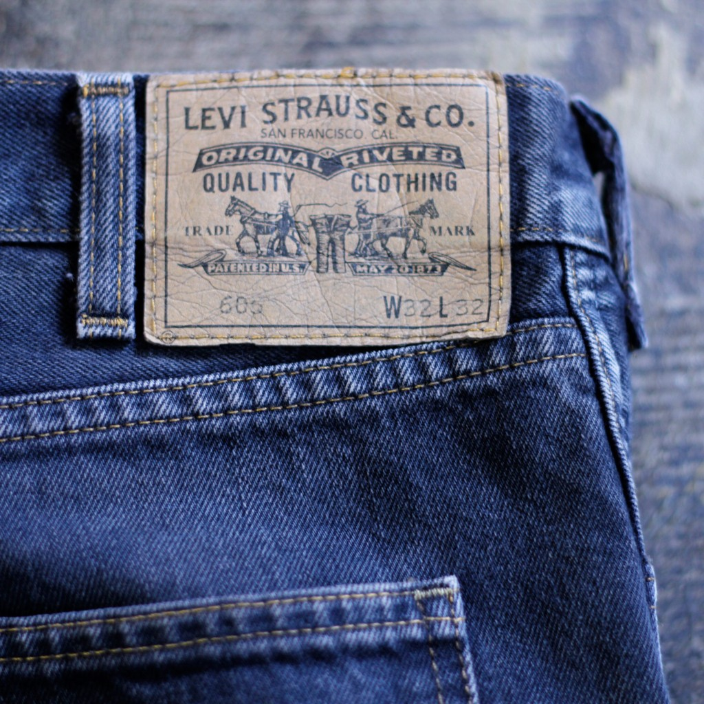 LEVI'S VINTAGE CLOTHING 606 Black Denim