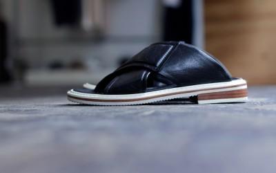 Tibi Cross Strap Sandal