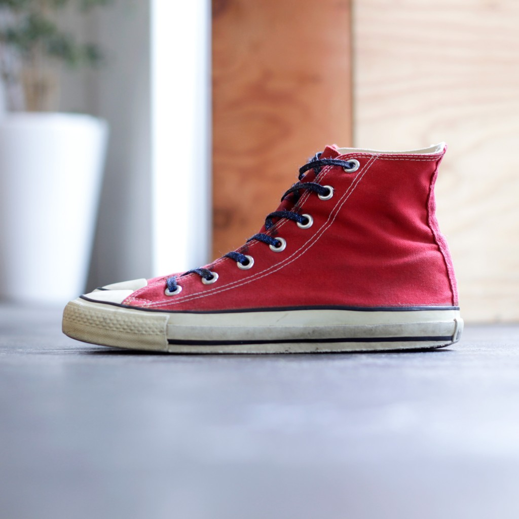 CONVERSE 80′s Vintage All Star Hi Made in U.S.A