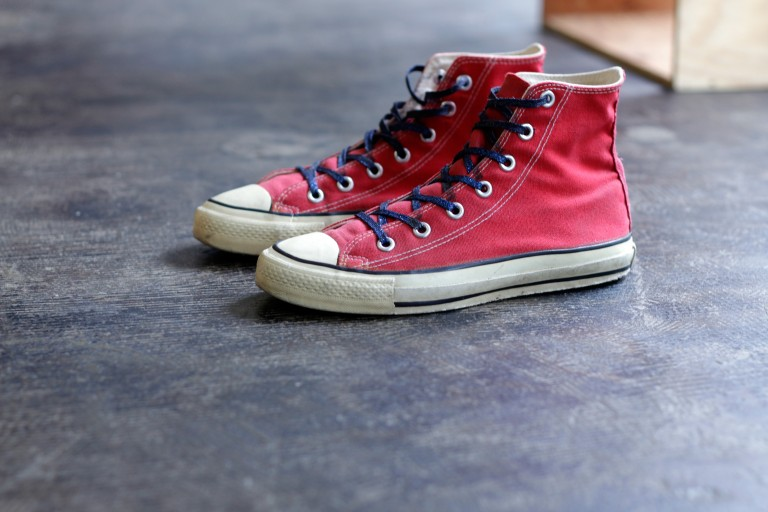 CONVERSE Vintage 80's All Star Hi Made in U.S.A