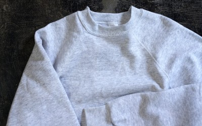 """Tultex Crew Neck Sweat """"DEADSTOCK / MADE IN USA"""""""