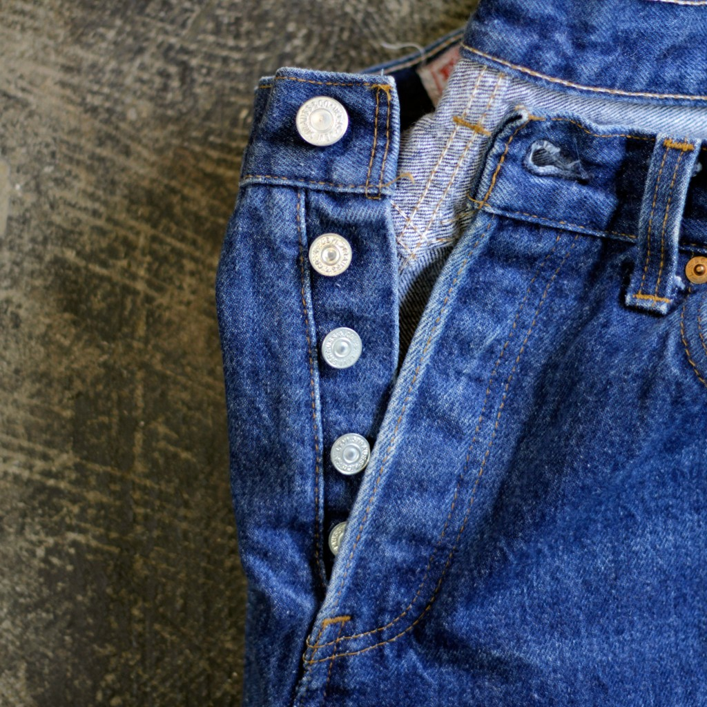 Levi's Vintage 1980′s 501 Made in U.S.A 'Giri's Model'
