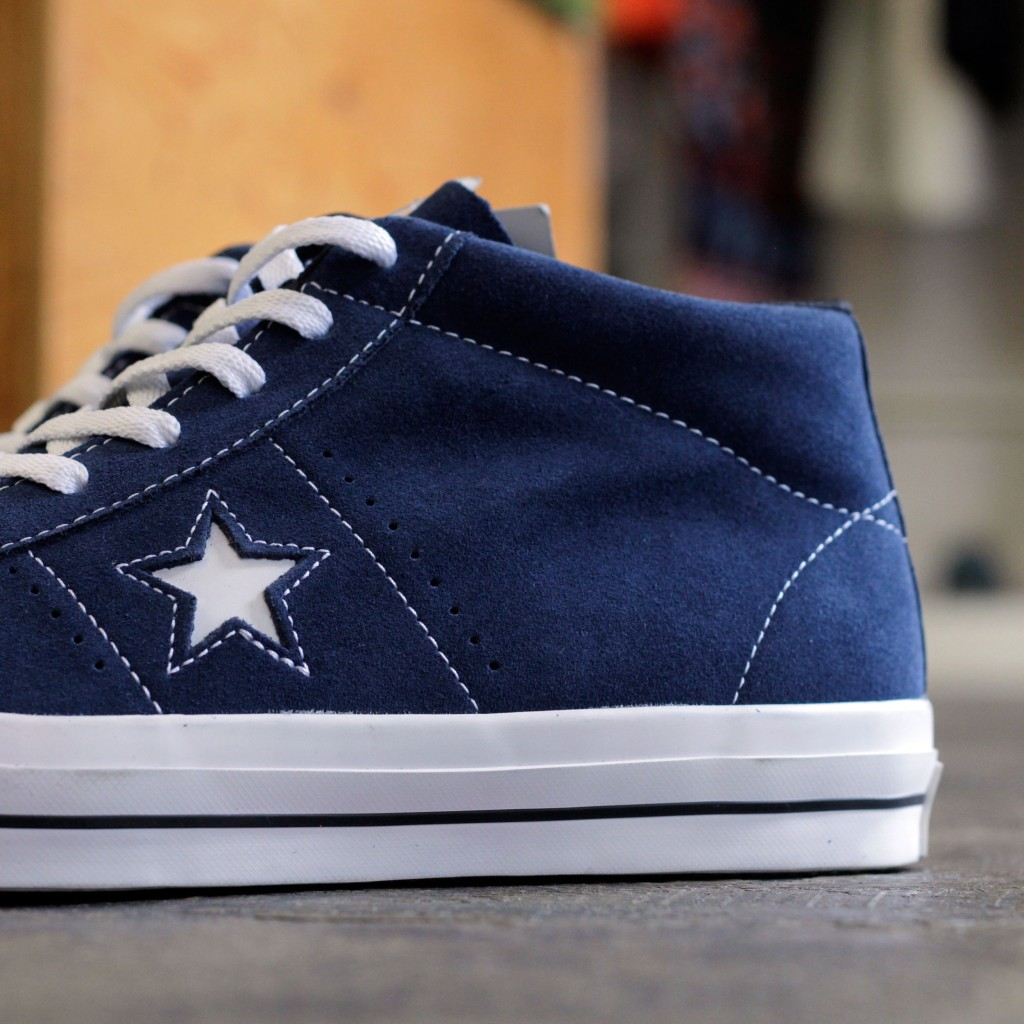 CONS ONE STAR PRO SUEDE MID