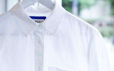 Acne Studios -Blå Konst- White Shirts