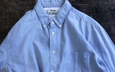 Acne Studios Classic Fit Chambray Shirt
