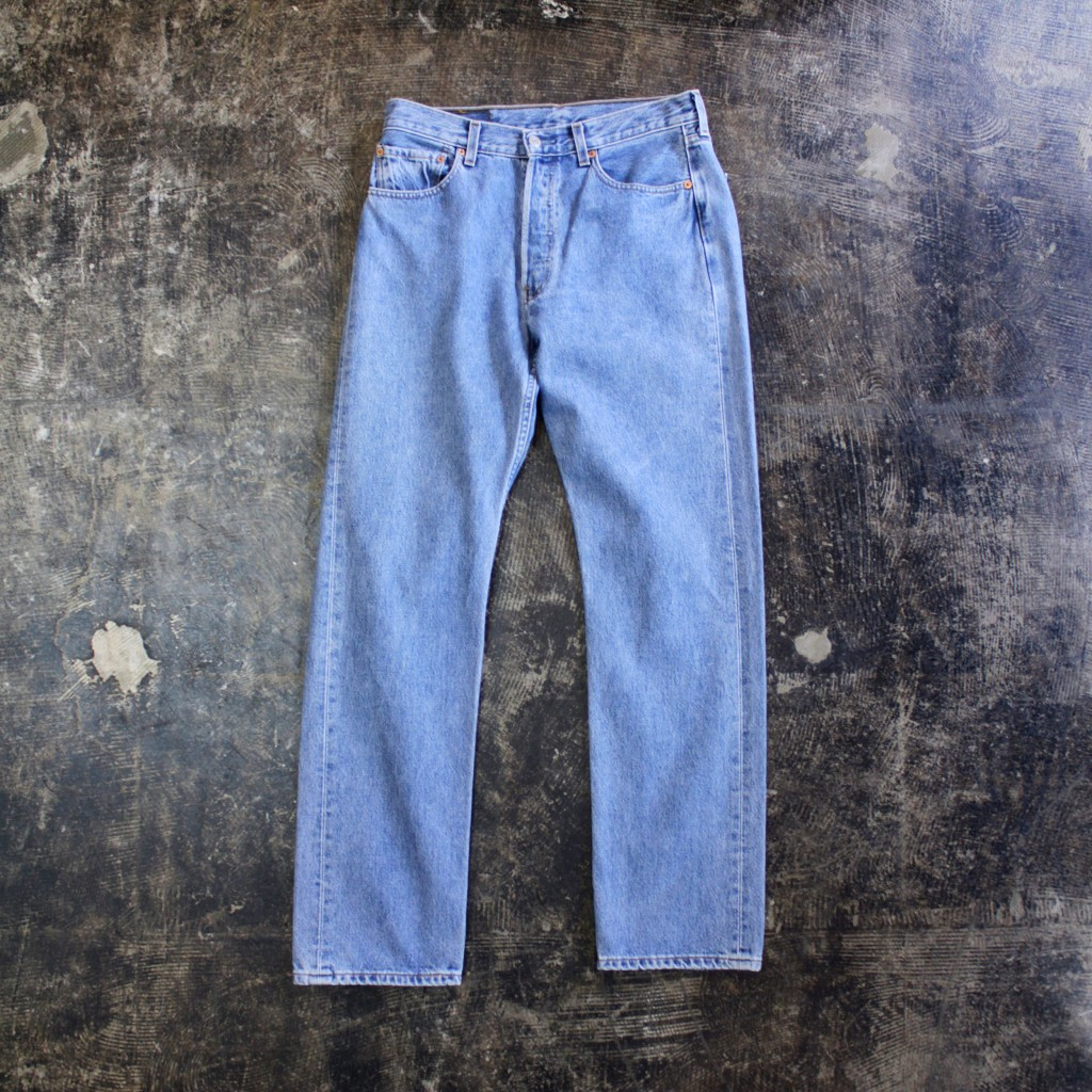 Euro Levi's 501 Blue Denim