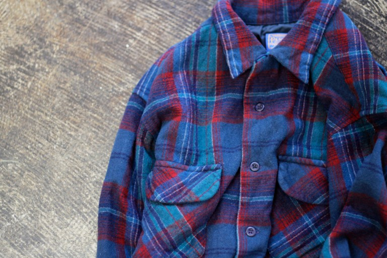 "PENDLETON 70′s Vintage Check Nell Shirt ""Made in U.S.A."""