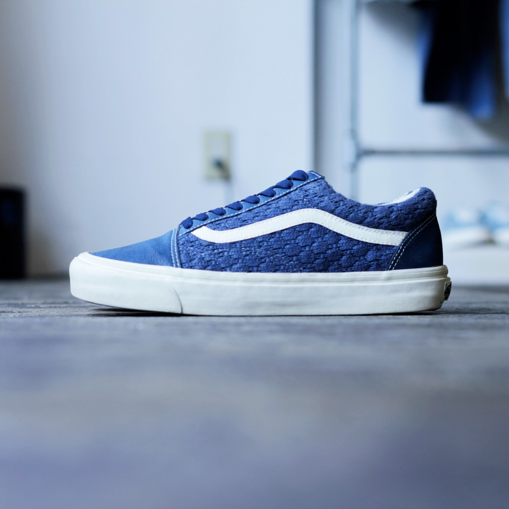 END. × VANS Woven Knit Old Skool