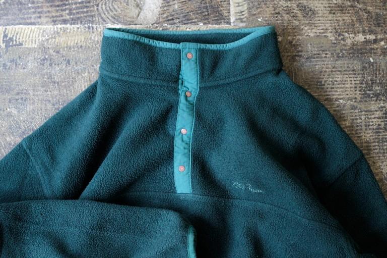 L.L. Bean 80's Fleece Pull Over Jacket