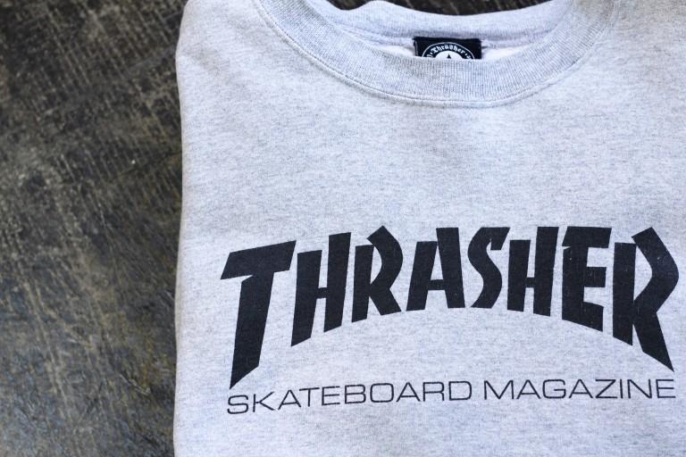 OLD THRASHER 00′s Logo Sweat