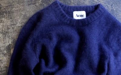 Acne Mohair Crew Knit