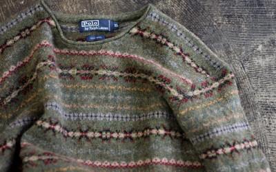 POLO by Ralph Lauren Fairisle Wool Sweater