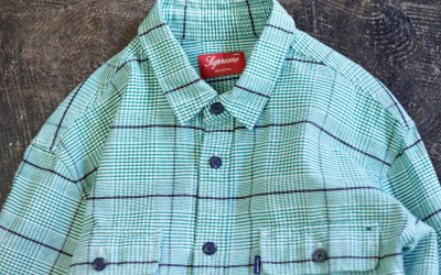 Supreme L/S Check Shirt