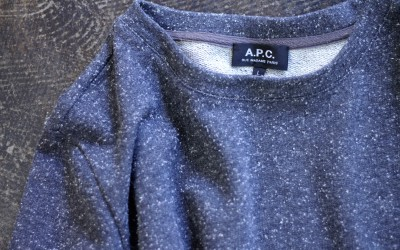 A.P.C. Crew Neck Nep Top