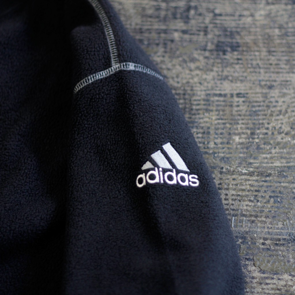 adidas 90's Performance Logo Fleece Pullover