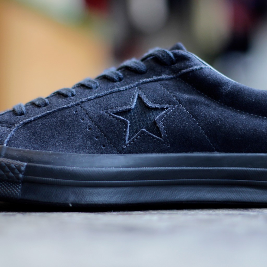 """CONVERSE ONE STAR SUEDE """"BLACKOUT"""""""