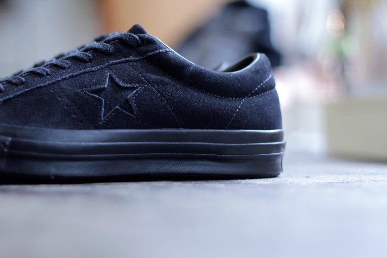 """CONVERSE ONE STAR SUEDE """"BLACK OUT"""""""