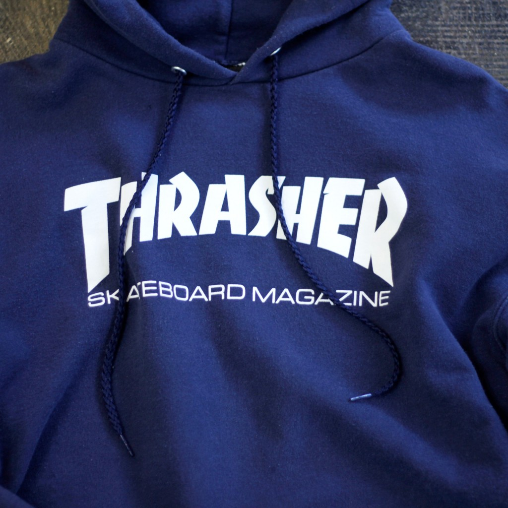 OLD THRASHER Logo Sweat Hoodie