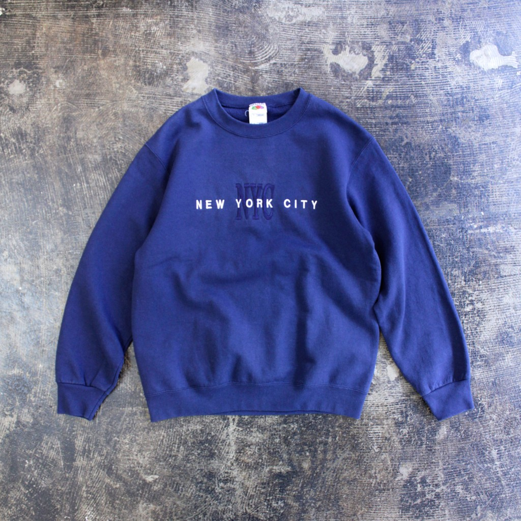 "FRUITS OF THE LOOM Souvenir Sweat ""NYC"""