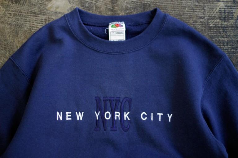 """Souvenir Crew Neck Sweat """"NYC"""""""