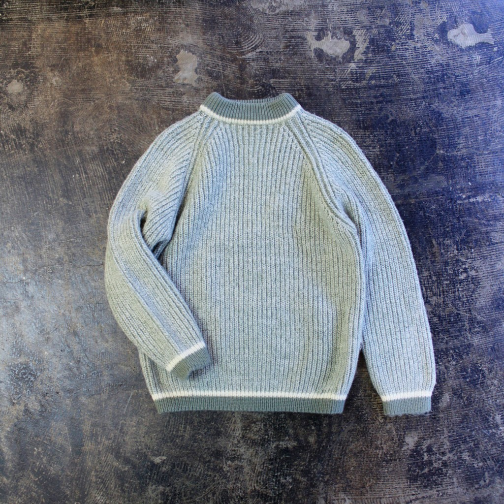 Vintage Mock Neck Sweater Made in Scotland