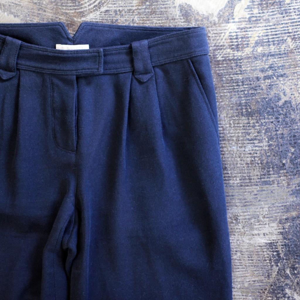 Burberry Brit Tuck Cotton Pants