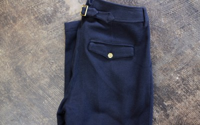 Burberry Brit Tuck Cotton Pants