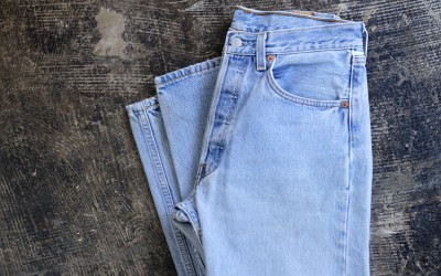 Levi's Vintage 501 Blue Denim Made in U.S.A.