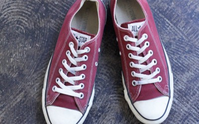"CONVERSE 90′s Vintage All Star Low ""MAROON"""